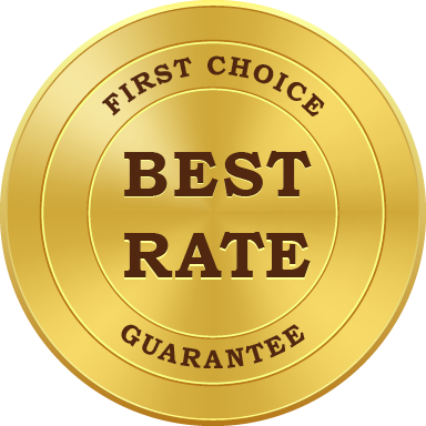 FIRST CHOICE BEST RATE GUARNTEE